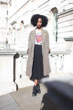 London Fashion Week street style. [Photo by Kuba Dabrowski] street style #streetstyle #style #fashion