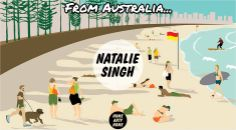From #Australia to #London - @NatalieASingh #Art #Prints @HomeArtyHome Home Arty Home http://homeartyhome.com/natalie-singh/