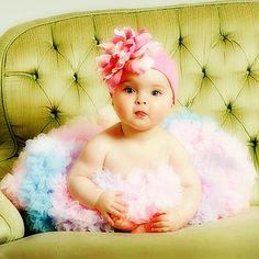 Peony Baby flower hat
