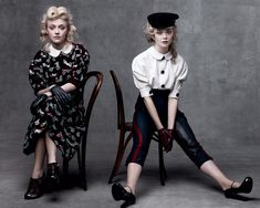 Elle & Dakota Fanning + Vogue = One of my favorite images