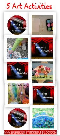 The Sunday Showcase - 5 Amazing Art Activities