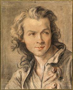 Jean-Baptiste Lemoyne el Joven (París, 1704-1778) Retrato de Étienne Maurice Falconet (1741) MET (New York)