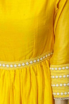 Detail on the sleeves