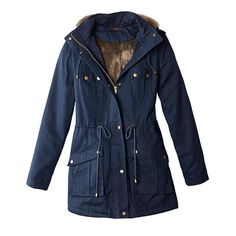 mark. Warm And Fuzzy Anorak   Avon Stay on trend with this perfect fall coat!   FEATURES:  • Faux fur body lining  • Zip-off hood