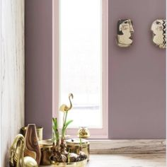 Dulux announce its 2018 Colour of the Year, and call it 'Heart Wood'. I prefer 'Bruise Purple', as then you can instantly picture its pale purply hue.