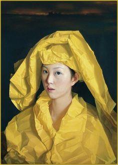 Yello Paper Bride, by Zeng Chuanxing (born 1974) - Neuromantes
