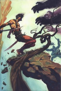 John Carter of Mars Artist: Steve Rude