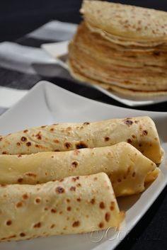Sabor: Χυλός για αλμυρές κρέπες / Batter for savory crepes Cookbook Recipes, Cooking Recipes, Savory Crepes, Breakfast Snacks, Greek Recipes, Food To Make, Food And Drink, Eat, Ethnic Recipes