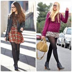 Cómo combino mis Pantys negras: Ideas de outfits y tips :)