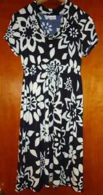 Black ivory casual women's dress fashion dress comfortable soft TIANA BRAND SIZE SMALL