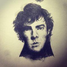 #sherlockholmes #drawing