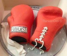 Boxing Glove Cake - Darwen Deli Cakes