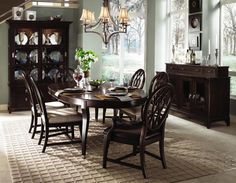 Alston Solid Beechwood Dining Room Group