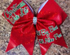 christmas cheerleading bows - Google Search