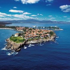 The dreamy town of Sozopol on the Bulgarian Black Sea coast.