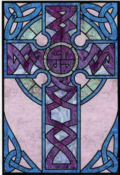 Celtic Cross Wall Hanging Quilt Pattern