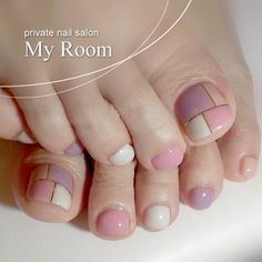 Having short nails is extremely practical. The problem is so many nail art and manicure designs that you'll find online Pretty Toe Nails, Cute Toe Nails, Love Nails, How To Do Nails, Feet Nail Design, Toe Nail Designs, Nails Design, Pedicure Nail Art, Toe Nail Art