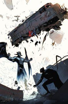 Batman/Superman 15 Bengal variant