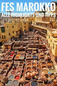 Fes, Marokko - die schönsten Sehenswürdigkeiten & die besten Reisetipps: In diesem Blog Guide erfährt ihr alles über die schönsten Sehenswürdigkeiten von Fes und wir zeigen euch alle Highlights dieser aufregenden Stadt. Zudem geben wir euch hilfreiche Tipps und nützliche Infos rund um die Medina von Fes. So wird auch eure Erkundungstour zu einem unvergesslichen Erlebnis! Fes, Morocco, Highlights, Blog, Travel, Marrakech, Helpful Tips, Travel Tips, City