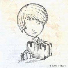 """ilustratie capitol """"Remiza"""" - Cartea, de Alex Ve"""