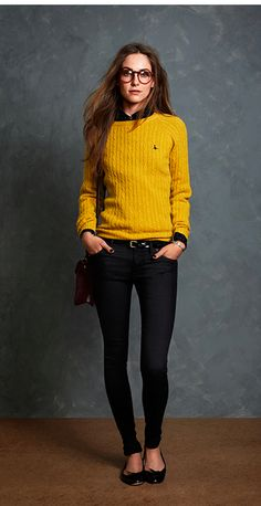 Our classic-fit Tinsbury Jumper is a must-have for the new season. Made from 100% luxurious lambswool with a stylish cable design, this is the separate that will make every outfit look good. http://www.jackwills.com/en-gb/product/tinsbury-cable-crew-10000199703