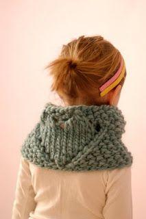 big heart cowl by knit 1 LA