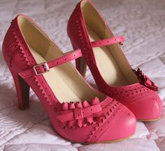 Korean Style Ladies Shoes Vintage Mary Jane Pumps Pink Black Platform Princess High Heels With Bows For Women Free Shippings-inPumps from Shoes on Aliexpress.com | Alibaba Group