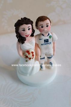 Another bride and groom - Cake by Zoe's Fancy Cakes. more at https://www.facebook.com/zoesfancycakes