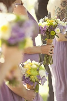 Yep. My wedding is officially picked out. Beautiful Weddings lemon and lavender colors