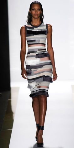 3dab9d8115a4 Runway Looks We Love  Herve Leger by Max Azria