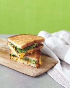 Bacon-and-Escarole Grilled Cheese Recipe
