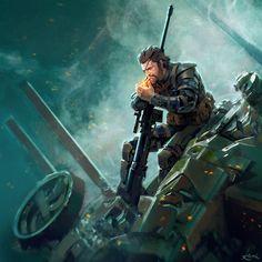 Metal gear solid V: the phantom pain - Venon Snake Metal Gear V, Snake Metal Gear, Metal Gear Games, Metal Gear Solid Series, Metal Gear Rising, Big Boss Metal Gear, Cry Anime, Anime Art, Fantasy Anime