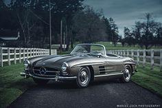 https://flic.kr/p/DGWH1t | Mercedes 300 SL Roadster | Instagram  Facebook www.mlech.com