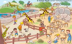 Spanish activities: Image to use as a prompt in Spanish class or with kids learning Spanish. Learning Spanish For Kids, Teaching Spanish, Teaching English, Kids Learning, Elementary Spanish, Spanish Classroom, Spanish Lesson Plans, Spanish Lessons, English Activities