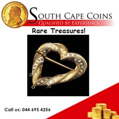 Treasure: Fishpool Hoard Location: Ravenshead, Nottinghamshire Year: 1966 One of the beautiful gold and enamel brooches found in the Fishpool Hoard. Call us: 044 695 4256 For more information: info@southcapecoins.co.za #coins, #investment, #gold