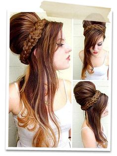 63 best Do it yourself ballroom hair images on Pinterest | Coiffure ...