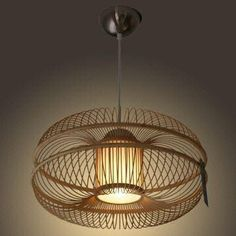 what a great bamboo lamp!