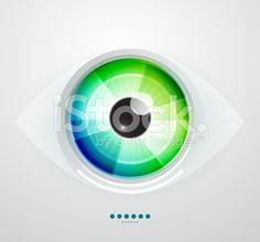 Vector eye royalty-free stock vector art