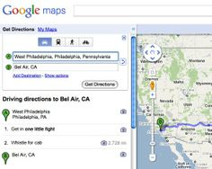 Google Maps' 'The Fresh Prince of Bel-Air' Directions Are Amazing — PHOTO