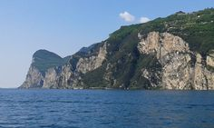 Western coast of the lake going south from Riva