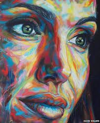 Art of David Walker David Walker, Walker Art, Art Pop, Portfolio D'art, Potrait Painting, Art Visage, L'art Du Portrait, Abstract Face Art, Yarn Painting