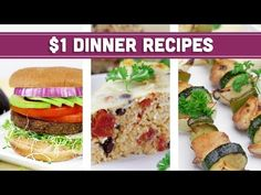 Healthy Dinner Recipes On A Budget is Among the Favorite Dinner Of Many Persons Across the World. Besides Simple to Make and Good Taste, This Healthy Dinner Recipes On A Budget Also Healthy Indeed. Easy Healthy Breakfast, Easy Healthy Dinners, Breakfast For Kids, Healthy Dinner Recipes, Healthy Snacks, Vegan Breakfast, Healthy Recipe Videos, Healthy Crockpot Recipes, Easy Recipes