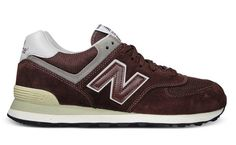 New Balance 574 – Bordeaux/Grey