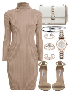 """""""Untitled #20233"""" by florencia95 ❤ liked on Polyvore featuring Valentino, Emporio Armani, Rumour London, Steve Madden and Topshop"""