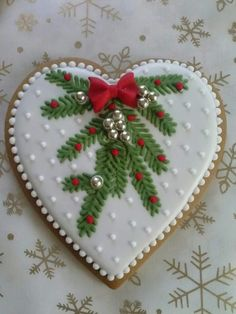 of the Best Christmas Cookie Recipes for the Holidays Christmas Biscuits, Christmas Sugar Cookies, Christmas Sweets, Christmas Goodies, Holiday Cookies, Christmas Baking, Fancy Cookies, Iced Cookies, Cute Cookies