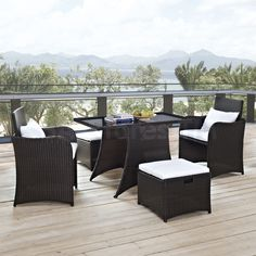 5 pc outdoor dining sets
