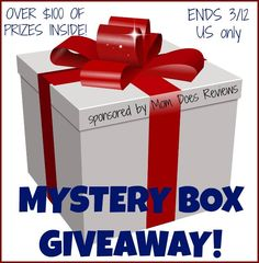 Do you love surprises? Enter to win over $100 in mystery items in this fun mystery box giveaway!