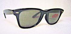 "American Optical *NOS Vintage *Wayfarer ""SKYMASTER BLUES"" 50mm *NEW Sunglasses"