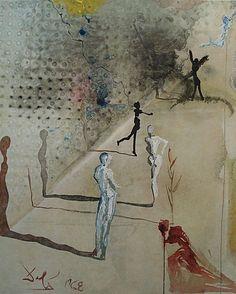 Salvador Dali, Marquis de Sade, 1969