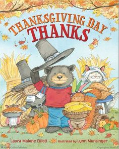 Thanksgiving Day Thanks by Laura Malone Elliott. ER ELLIOTT.